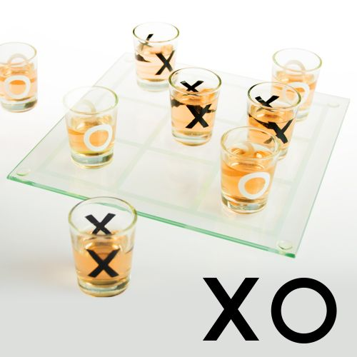 Party Trinkspiel Tic Tac Toe