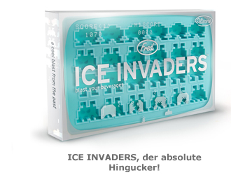 Eiswürfelform Ice Invaders
