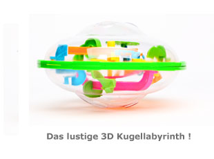 3D Kugellabyrinth